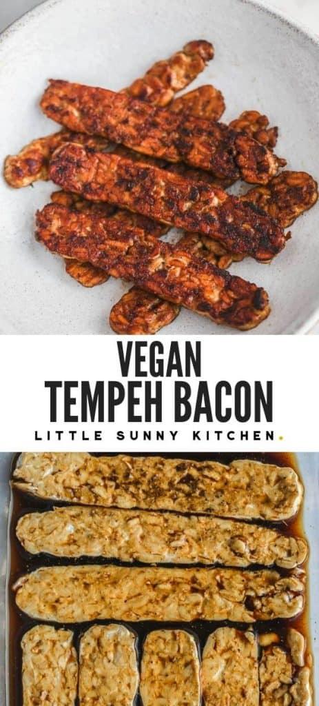 Tempeh bacon pin